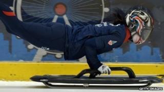 Skeleton athlete Shelley Rudman