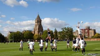 A match at Rugby School