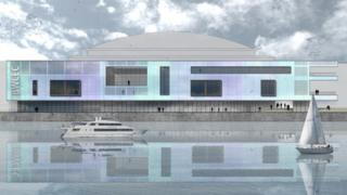 Artist's impression of the proposed extension