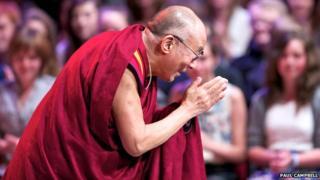 Dalai Lama at Eden Court
