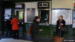 Tube ticket office