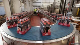 Marston's bottling plant