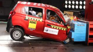 Suzuki-Maruti Alto received a zero-star safety rating for adult occupant protection