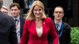 Danish PM Helle Thorning-Schmidt