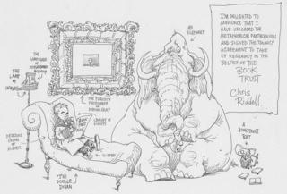 Chris Riddell announcement