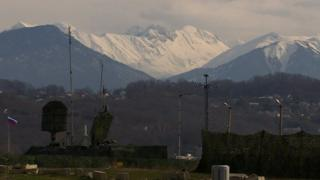 Air defence system in Sochi