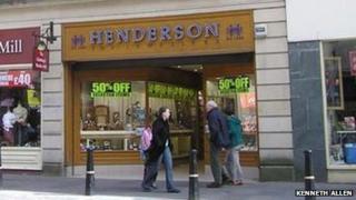 Henderson jewellers