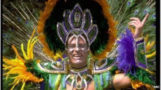The Rio Carnival in full swing