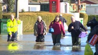 Yalding floods - 1st February