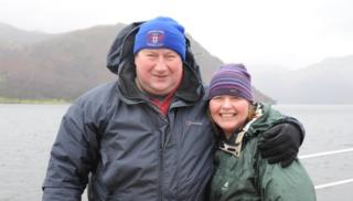 Stuart and Caroline Hyde in the lakes