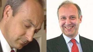 Mark James and Bryn Parry Jones