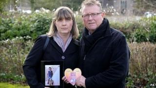 Sean's parents, Yolanda and Steve Turner