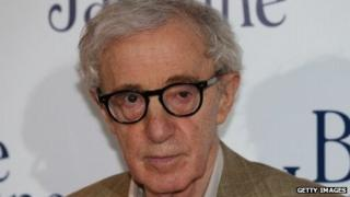 Woody Allen at a screening of his latest movie, Blue Jasmine, in Paris on August 27, 2013.