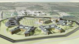 Architect's plans for Broadmoor Hospital