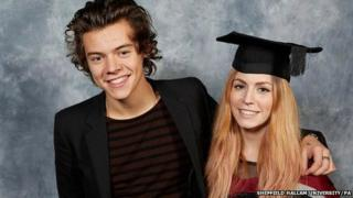 Harry Styles with sister Gemma