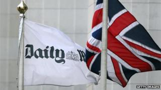 Daily Mail flag