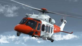 Bristow AW189 helicopter