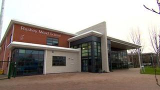 Rushey Mead School in Leicester