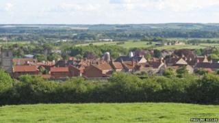 View of Kirkbymoorside