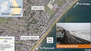 Map: Dawlish