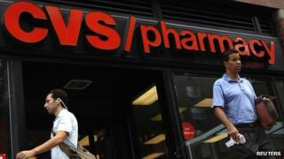 A CVS store in New York City, in a July 2010 file photo