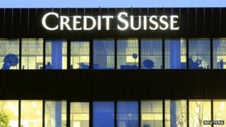 Credit Suisse offices in Zurich