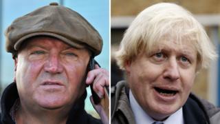 Bob Crow and Boris Johnson