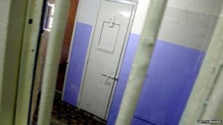 File photo of Baghdad Central Prison cell