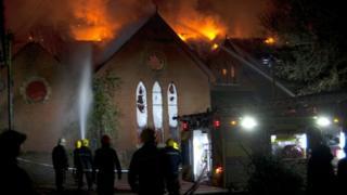 Suffolk fire crews in Ipswich town centre