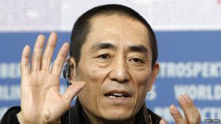 Film director Zhang Yimou