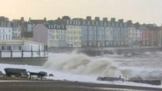 Storm Aberystwyth
