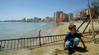 The resort of Varosha, May 2003