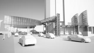 Bridgewater Place proposed wind mitigation measures