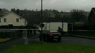 Police at scene of alert