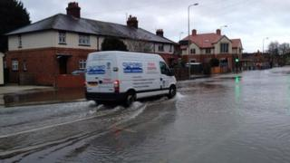 Flooding on Abingdon Road