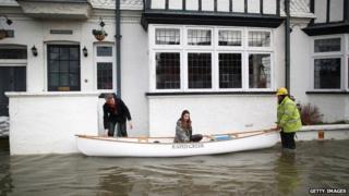Datchet flooding