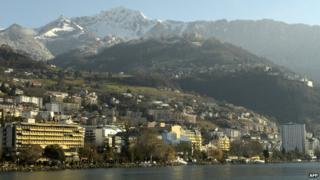 Montreux view