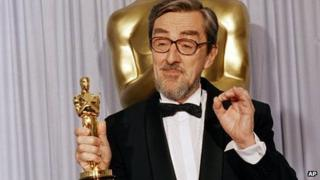 Gabriel Axel at the 1988 Oscars