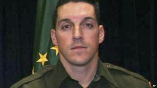 This undated photo provided by US Customs and Border Protection shows US Border Patrol agent Brian Terry