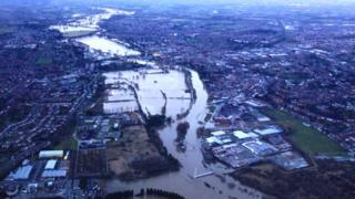 Severn from above