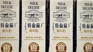China Mengniu products