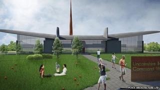 Design for the interpretation centre
