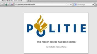 Dutch police sign