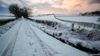 The Backhill Road in Derry - by Tyler Collins