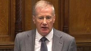 Gregory Campbell said BBC NI had been asked for the number and breakdown of complaints about programmes
