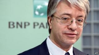 BNP Paribas chief executive Jean-Laurent Bonnafé
