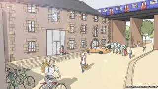 Harvey's Foundry Trust - artist impression