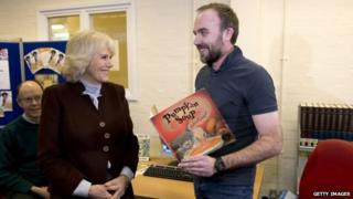 Duchess of Cornwall meets prisoner Daniel Snelling