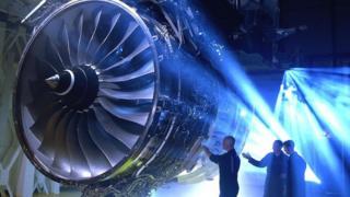 Rolls-Royce Trent 1000 aero engine