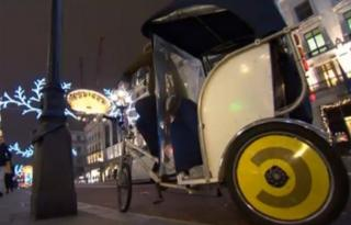 London pedicab